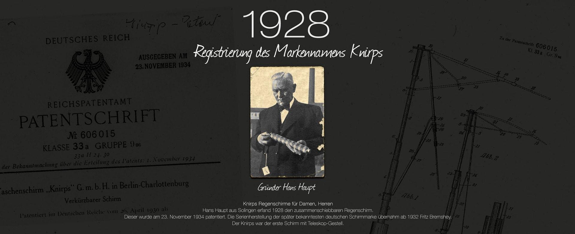 1928-Knirps-Markenregistrierung-Hans-Haupt