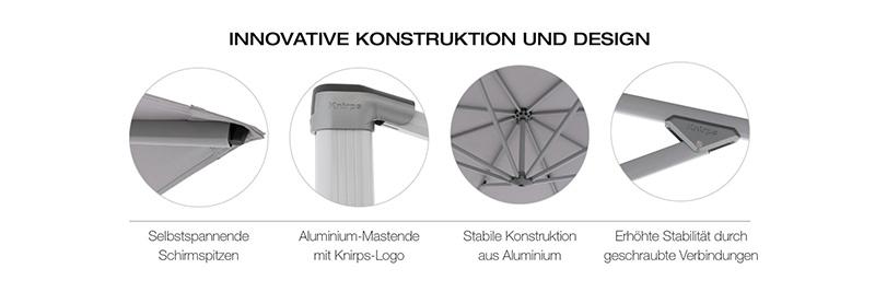 Knirps Pendular innovative Konstruktion