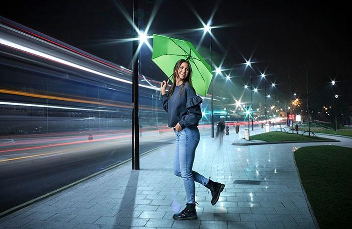 Knirps-Regenschirm_U.200_neon_green-ultra-leicht