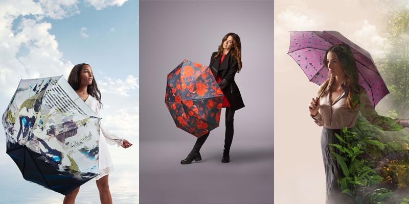 Knirps-Regenschirme-verschiedene-designs