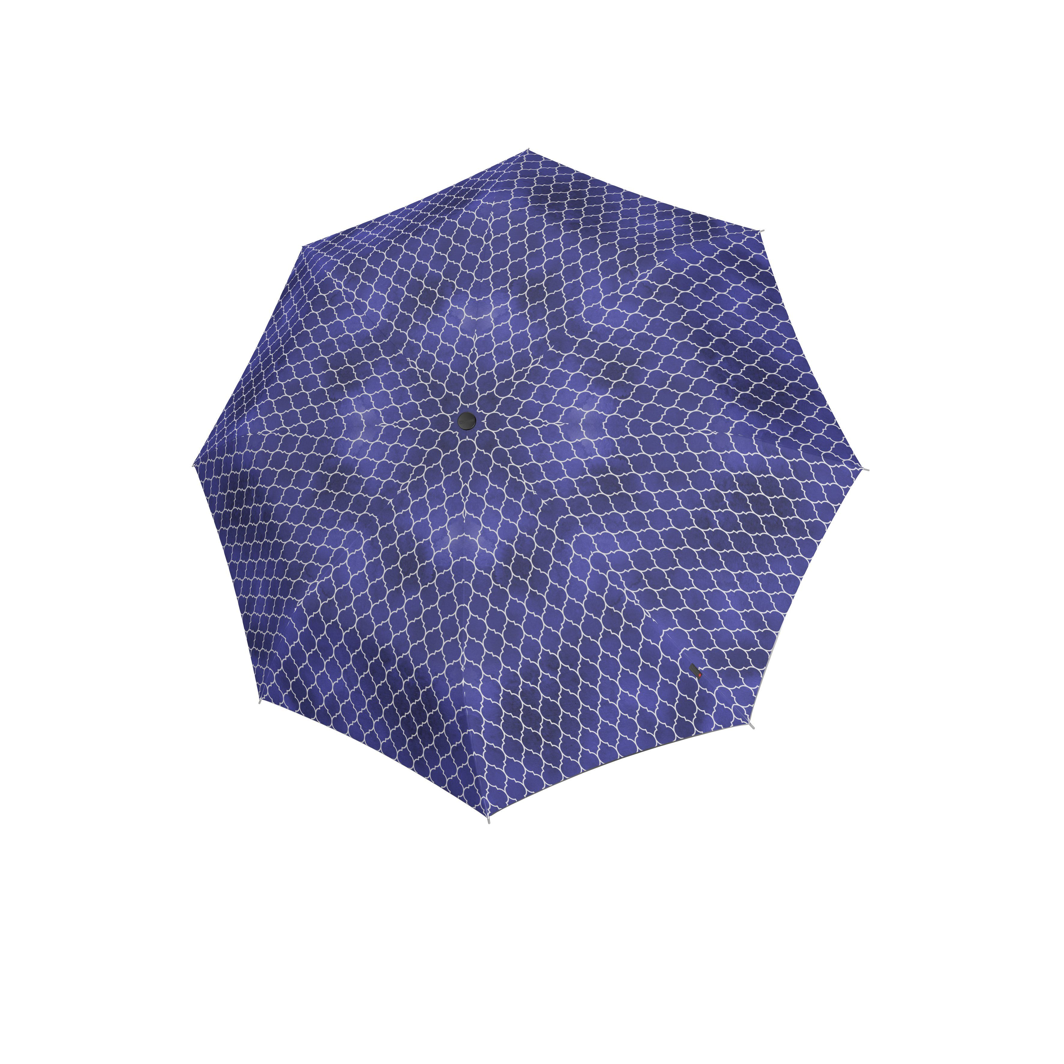 Knirps Umbrella Knirps T.760 stick automatic regenerate blue with UV Protection