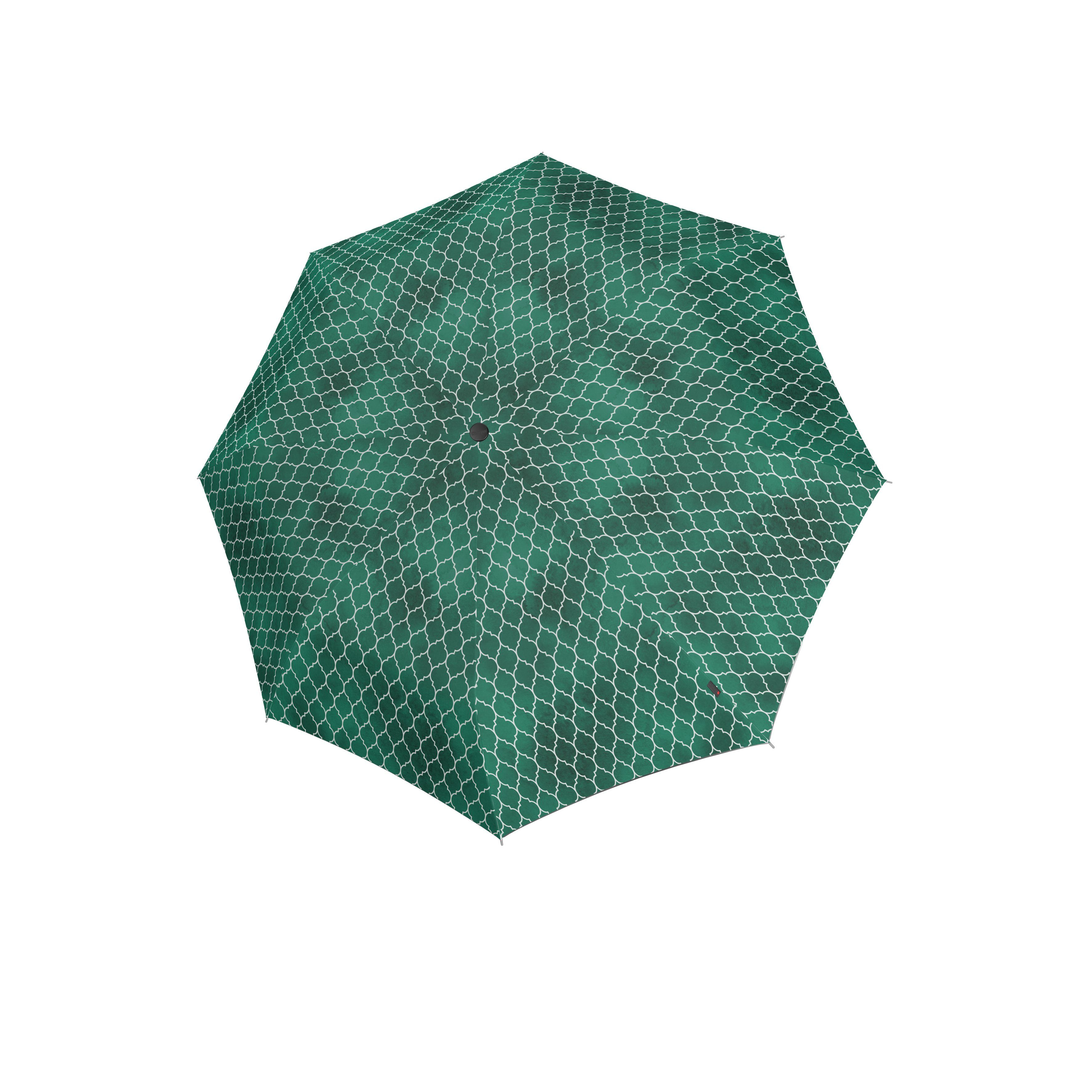 Knirps Umbrella Knirps T.760 stick automatic regenerate green with UV Protection