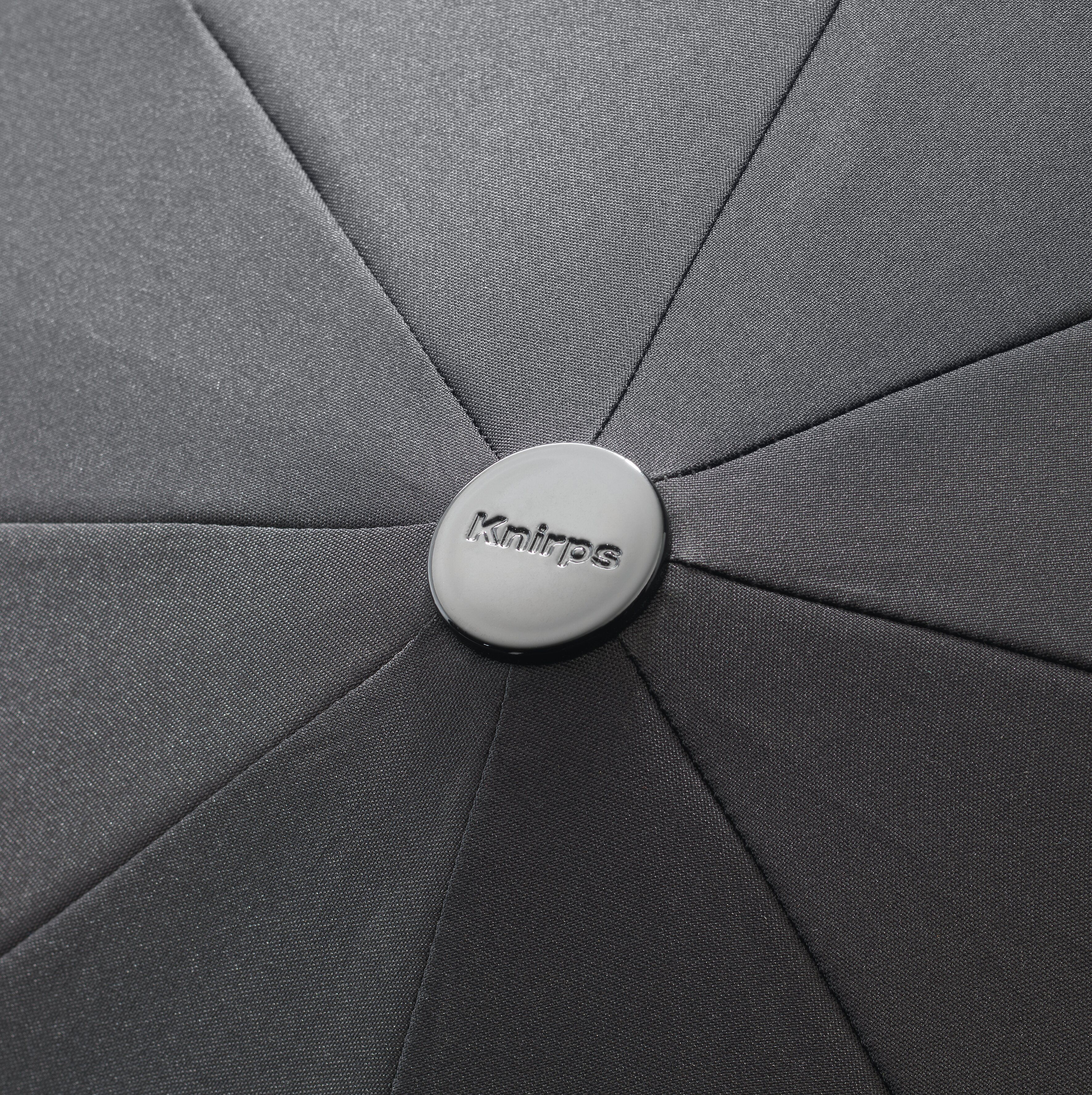Knirps Umbrella Knirps T.200 medium duomatic renature black ecorepel with UV Protection - foto 3