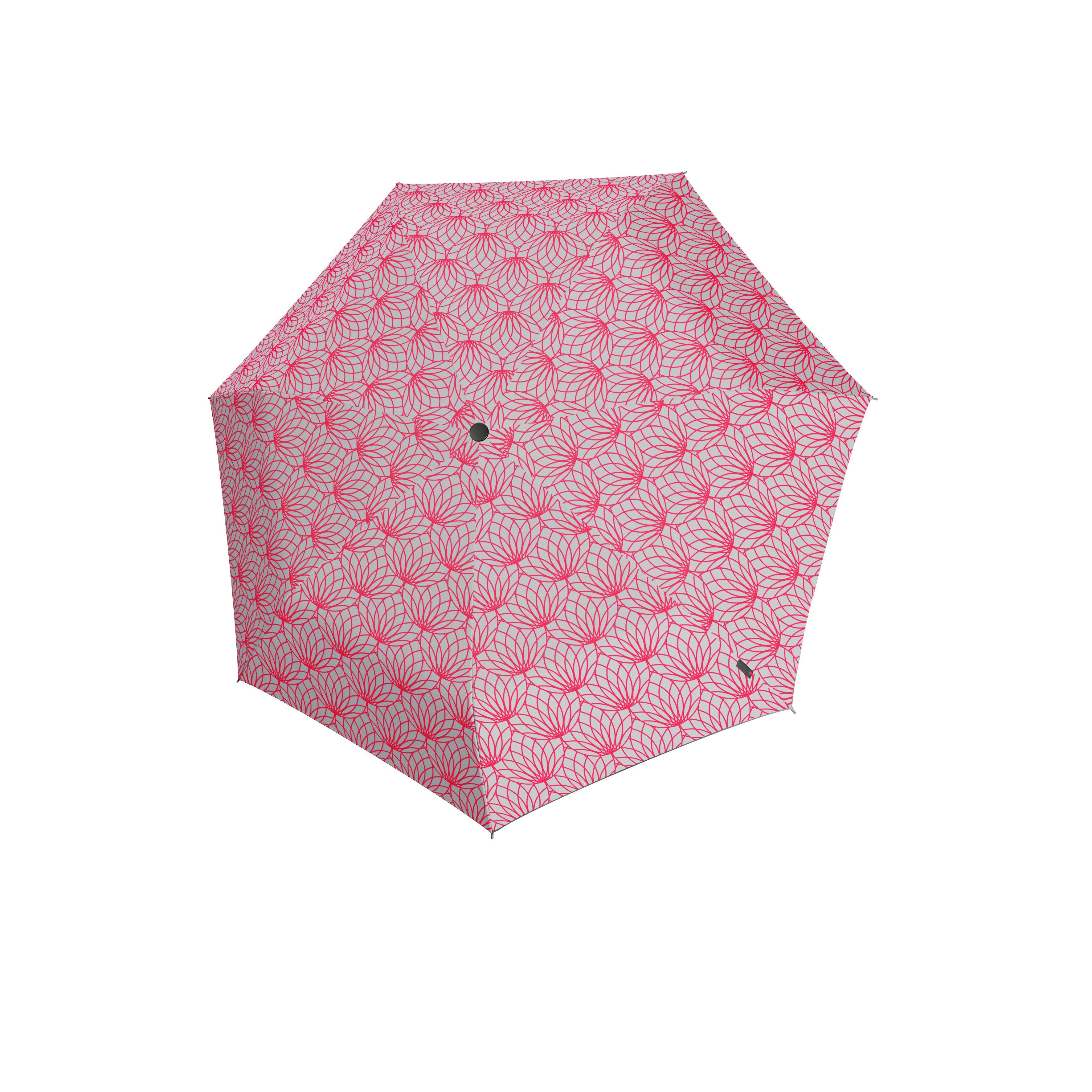 Knirps Umbrella Knirps X1 renature pink ecorepel with UV Protection