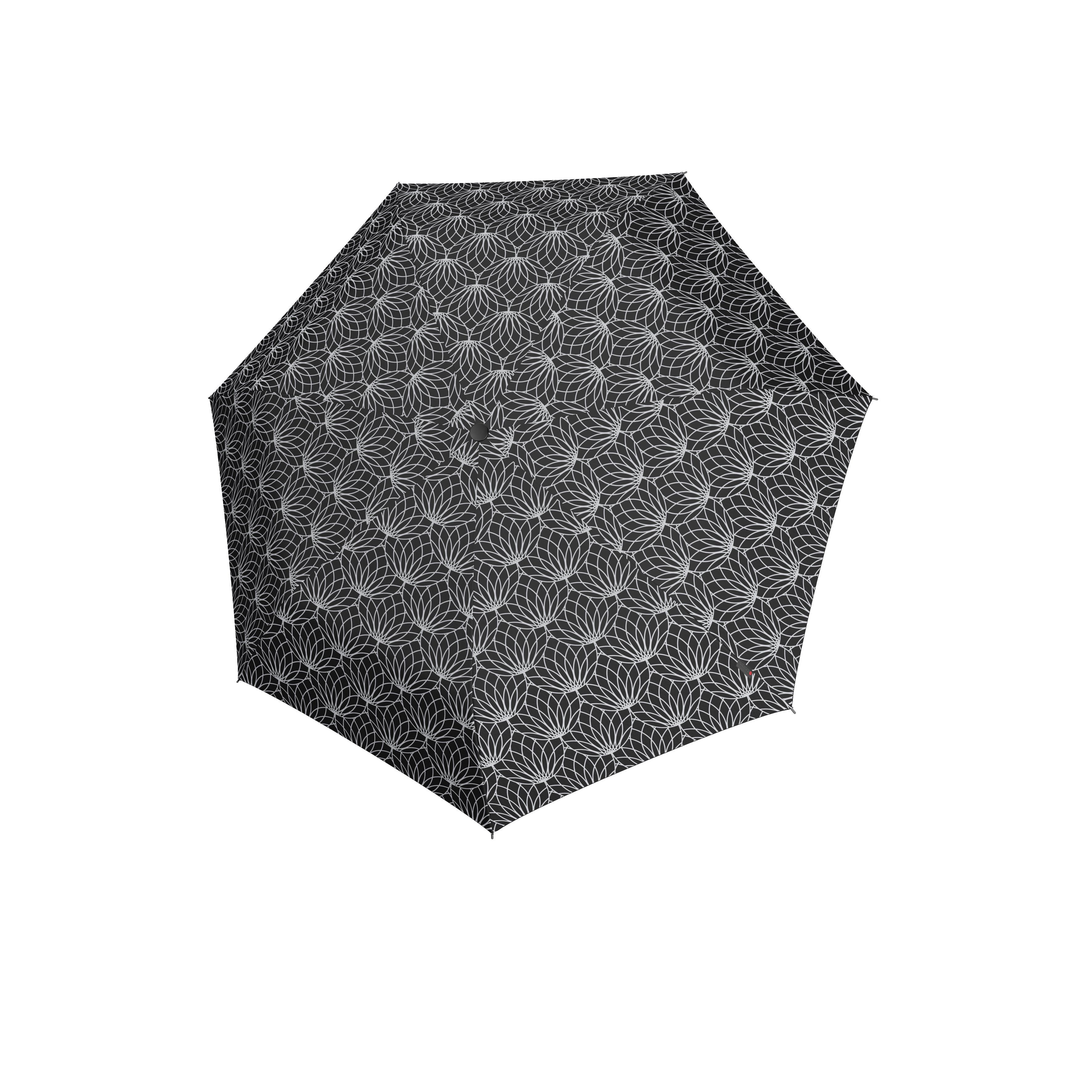 Knirps Umbrella Knirps X1 renature black ecorepel with UV Protection