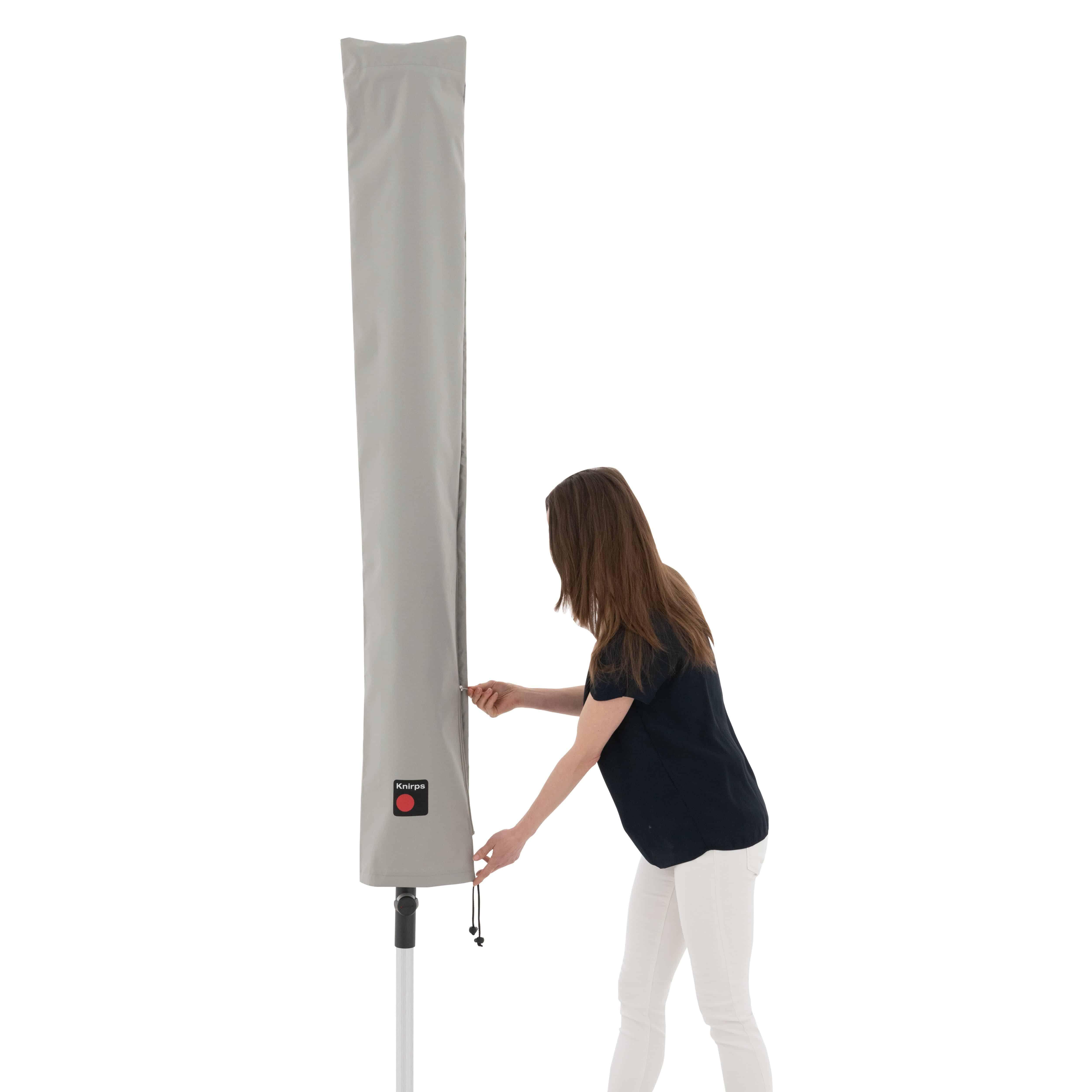 Knirps Mittelmastschirm Schirmhülle KNIRPS aus hochwertigem Polyester, mit Tragetasche - foto 5