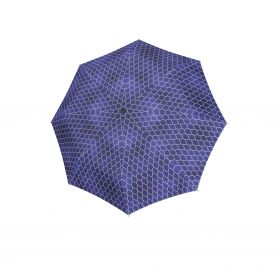 Knirps T.200 medium duomatic regenerate blue with UV Protection