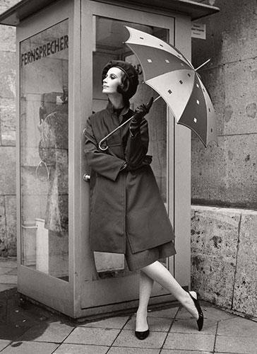 Knirps Damenregenschirm gemustert