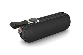 Knirps Regenschirm X1 mit stabiler Außenhülle in Schwarz