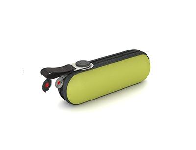 Grüner Knirps Taschenschirm X1 mit UV-Schutz und Hitzeschutz für jedes Wetter