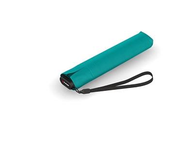 Türkiser Knirps Regenschirm US.050 mit Hitzeschutz und UV-Schutz